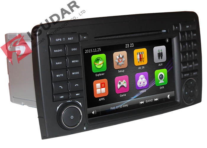 800 * 480 Resolution Mercedes Cls Dvd Player , All In One Car Stereo Gps Build In RDS