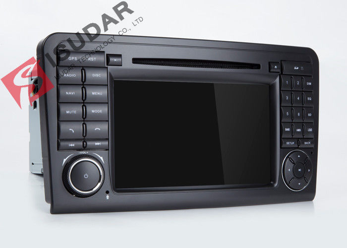 Mercedes Benz Car Audio Gps Navigation , Mercedes Ml Dvd Player With Dual CANbus
