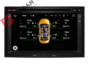 1024x600 Octa Core Android 2 Din Car DVD Player Peugeot 3008 Head Unit Hỗ trợ 3G / 4G